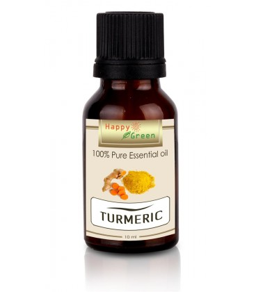 Happy Green Turmeric Essential Oil (10 ml) - Minyak Kunyit