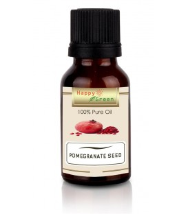 Happy Green Pomegranate Seed Oil (10ml) -Minyak Biji Delima Murni 100%