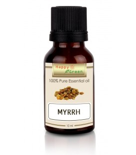 Happy Green Myrrh Resinoid Oil - Minyak Mur 10 ml