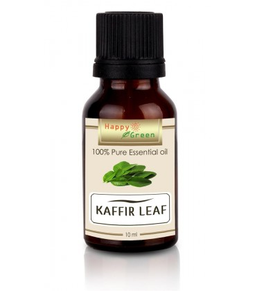 Happy Green Kaffir Leaf Essential Oil (10 ml) - Minyak Jeruk Purut