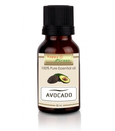 Happy Green Avocado Oil (80 ml) - Minyak Alpukat