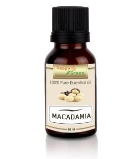Happy Green Macadamia Oil (80 ml) - Minyak Macadamia