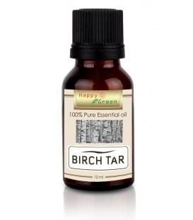 Happy Green Birch Tar Essential Oil (10 ml) - Minyak Birch Manis