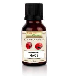 Happy Green Mace Essential Oil (10 ml) - Minyak Fuli Selaput Pala