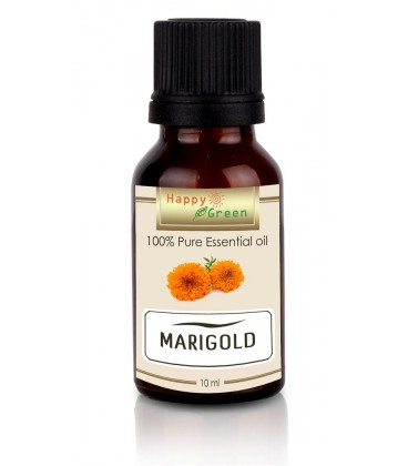 Happy Green Marigold Essential Oil (10 ml) - Minyak Marigold