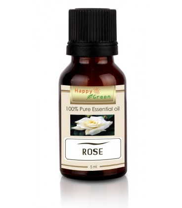 Happy Green Rose Absolute Oil 5ml ( Minyak Bunga Mawar )