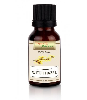 Happy Green Witch Hazel Oil (80 ml) - Minyak biji Anggur