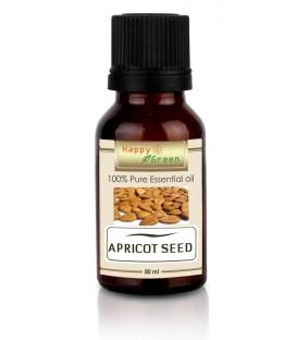 Happy Green Apricot Kernel Oil (80 ml) -  Minyak Biji Apricot