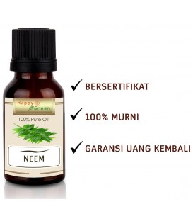 Happy Green Neem Oil  - Minyak Mimba Murni