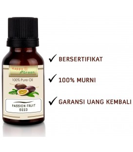 Happy Green Passion Fruit Seed Oil - Minyak Biji Markisa Maracuja Oil