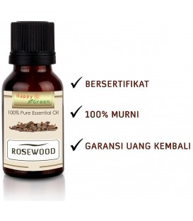 Happy Green Rosewood Essential Oil - Minyak Kayu Rosewood
