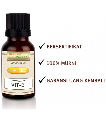 Happy Green Natural Vitamin E Oil