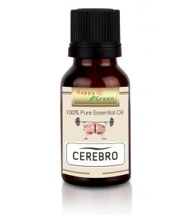 Happy Green Cerebro Essential Oil (5 ml) - Minyak Blend Untuk Pikiran