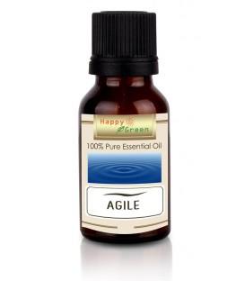 Happy Green Agile Essential Oil - Minyak Untuk Ketajaman Mental
