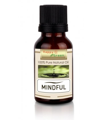 Happy Green Mindful Oil - Minyak Blend untuk Fokus Mindful