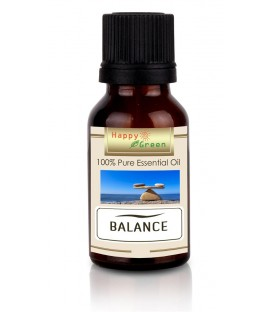 Happy Green Balance Essential Oil - Minyak Blend Keseimbangan