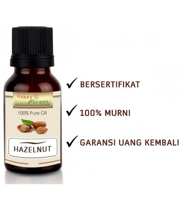 Happy Green Premium Hazelnut Oil - Minyak Hazelnut Murni