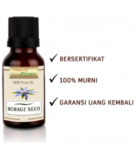 Happy Green Borage Seed Oil - Minyak Biji Borage