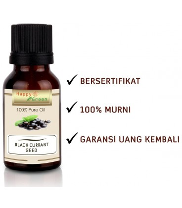 Happy Green Black Currant Seed Oil - Minyak Biji Black Currant