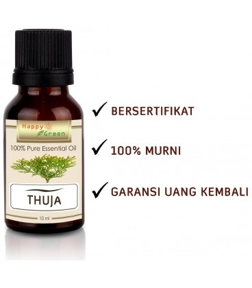 Happy Green Thuja Essential Oil  - Minyak Thuja Murni