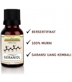 Happy Green Geraniol Oil - Minyak Geraniol Murni & Natural