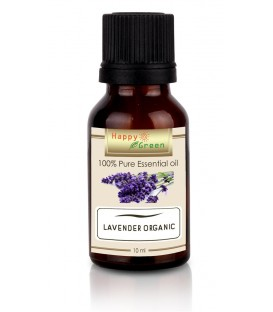 Happy Green Lavender Organic Essential Oil (10 ml) - Minyak Lavender Organic