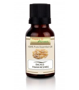 Happy Green Sacred Frankincense Essential Oil - Minyak Boswellia Sacra