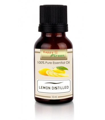 Happy Green Lemon Distilled Essential Oil  - Minyak Lemon Oil