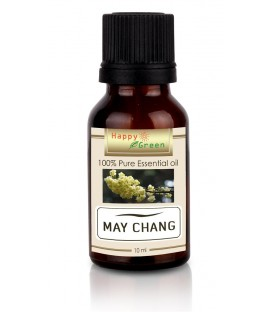 Happy Green May Chang Essential Oil ( 10 ml ) - Minyak Krangean