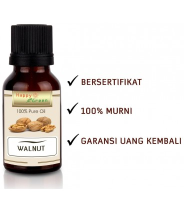 Bersertifikat Happy Green Premium Walnut Oil - Minyak Walnut