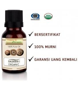 Bersertifikat Happy Green ORGANIC Babassu Oil  - Minyak Babassu