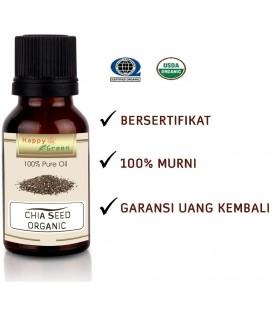 Bersertifikat Happy Green ORGANIC Chia Seed Oil - Minyak Chia