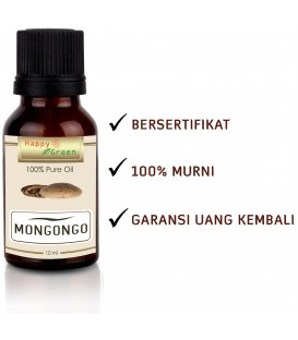 Happy Green Manketti Mongongo Nut Oil (10 ml) - Minyak Schinziophyton