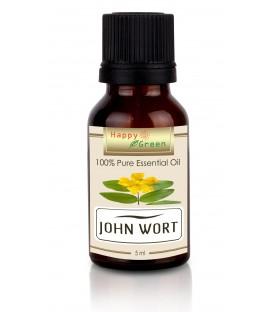 Happy Green St John Wort Essential Oil (5 ml) - Minyak St John Wort