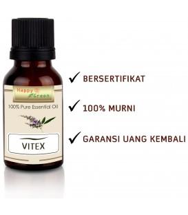 Happy Green Vitex Essential Oil (5 ml) - Minyak Essential Chasteberry