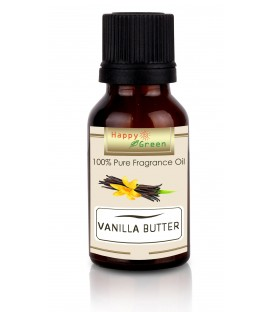 Happy Green Vanilla Butter Fragrance Oil (10 ml) - Minyak Vanilla
