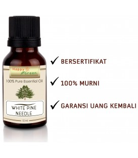Happy Green White Pine Needle Essential Oil (10ml) -Minyak Pinus Putih