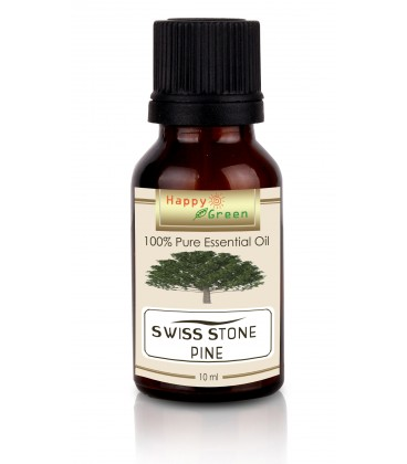 Happy Green Swiss Stone Pine Essential Oil (10 ml)- Minyak Swiss Stone