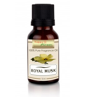 Happy Green Royal Musk Fragrance Oil (10 ml) - Minyak Musk Fragrance