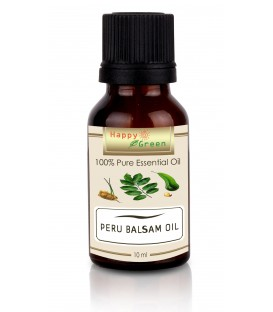 Happy Green Peru Balsam Essential Oil (10 ml) - Minyak Essential Peru