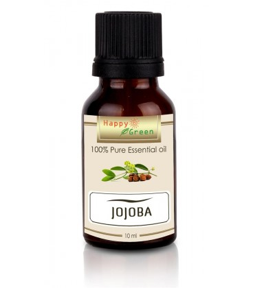 Happy Green Golden Jojoba Oil (10 ml) - Minyak Jojoba