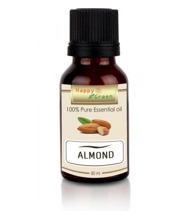 Happy Green Almond Oil (80 ml) - Minyak Kacang Almond