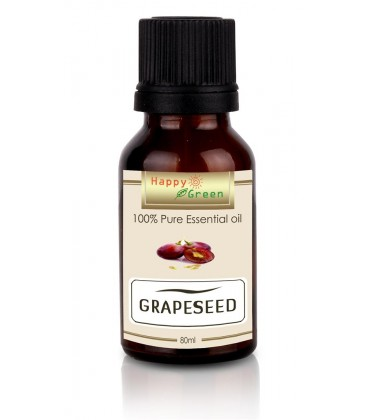 Happy Green GrapeSeed Oil (80 ml) - Minyak biji Anggur