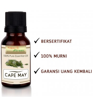 Happy Green Cape May Essential Oil - Minyak Cape May