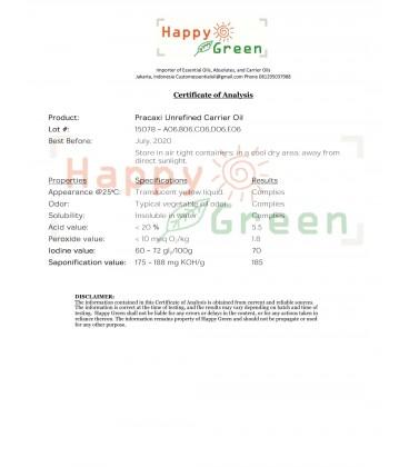 Happy Green Pracaxi Carrier Oil - Minyak kacang Pracaxi Murni