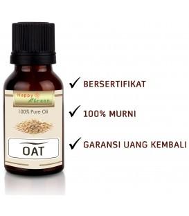 Happy Green Oat Carrier oIl -Minyak Gandum Murni Natural