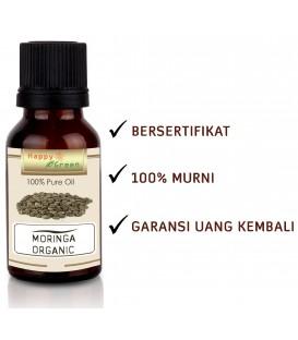 Happy Green ORGANIC Moringa Oil  - Minyak Kelor Organic USDA