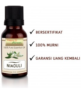 Happy Green Niaouli Essential Oil (5 ml) - Minyak Niaouli