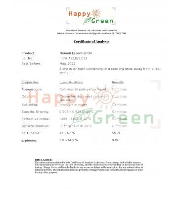 Happy Green Niaouli Essential Oil (5 ml) - Minyak Niaouli