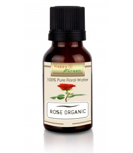 Happy Green ORGANIC Rose Water - Rose Damascena Floral Water Hydrolate Hydrosol